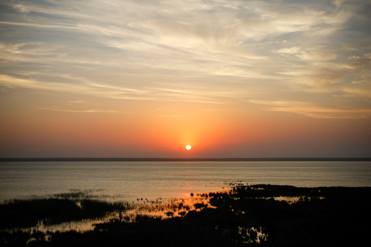 Sunset, Catalina Bay, iSimangaliso Wetland Park