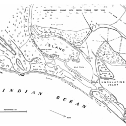 Crofts 1905 Estuary mouth map