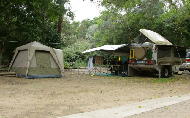 Cape Vidal camp site
